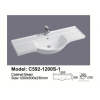 Semi-Reccessed Vanity Top C592-1200