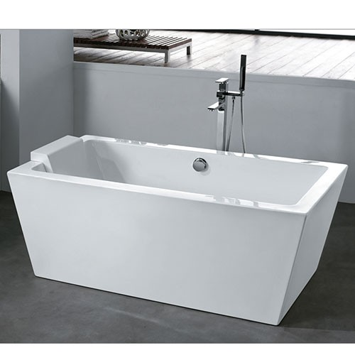 square freestanding bath ba 105