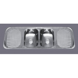 Double bowl kitchen Sink F1-1