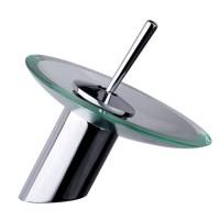 Round Glass Basin Mixer S107