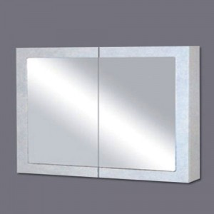 Shaving Cabinet with White Poly Frame & Mirror KC-1290