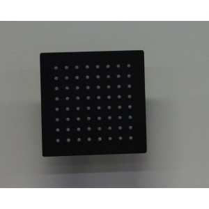 Black square shower head BS-150