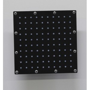 Black square shower head BS-230A