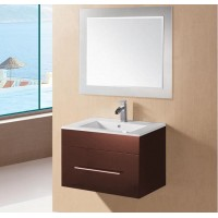 Brown Colour Wall-Hung Vanity