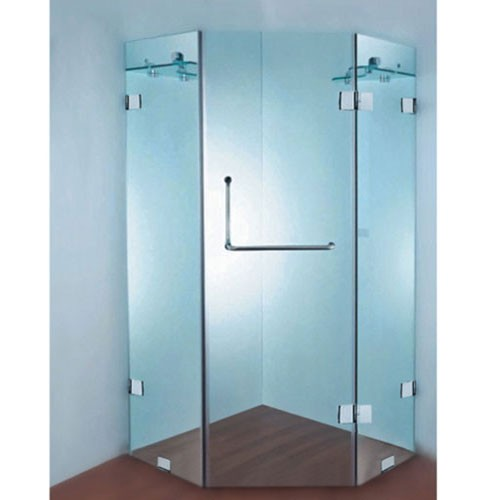 Frameless Corner Shower Screen Y01b 900